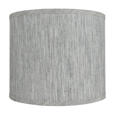 Classic Smooth 12 Linen Drum Lamp Shade Color: Storm