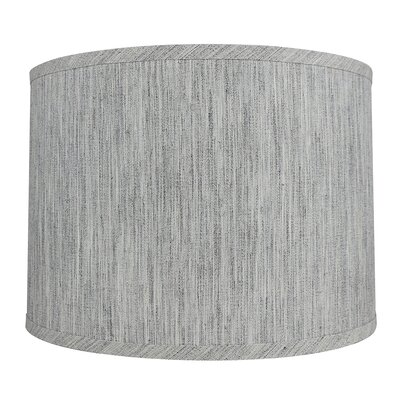 Classic Smooth 14 Linen Drum Lamp Shade Color: Storm