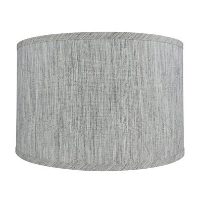 Classic Smooth 16 Linen Drum Lamp Shade Color: Storm