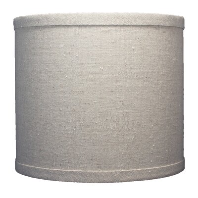 Classic 8 Linen Drum Lamp Shade Color: Natural
