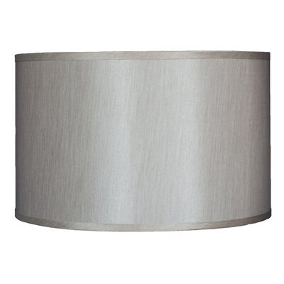 Classic 16 Faux Silk Drum Lamp Shade Color: Champagne