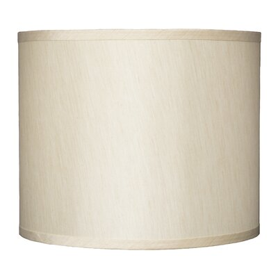 Classic 12 Faux Silk Drum Lamp Shade Color: Cream