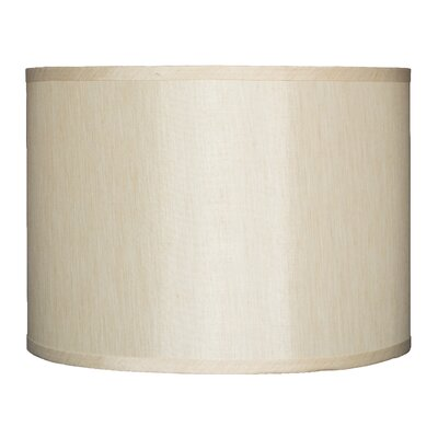 Classic 14 Faux Silk Drum Lamp Shade Color: Cream