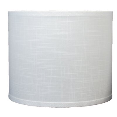 Classic 12 Linen Drum Lamp Shade Color: Off White