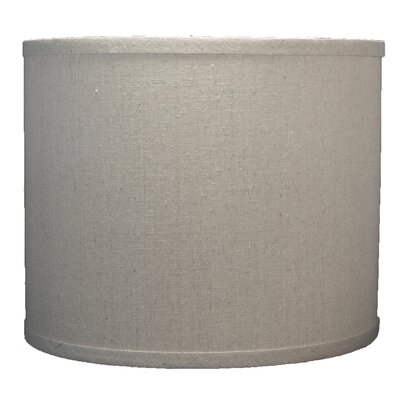 Classic 12 Linen Drum Lamp Shade Color: Natural
