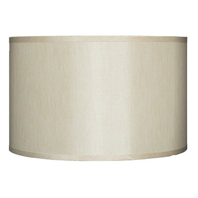 Classic 16 Faux Silk Drum Lamp Shade Color: Cream
