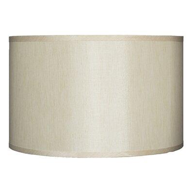 Classic 16 Faux Silk Drum Lamp Shade Color: Cream