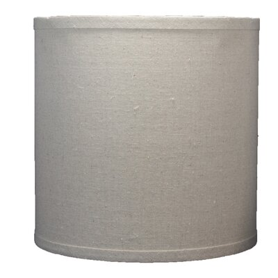 Classic 10 Linen Drum Lamp Shade Color: Natural