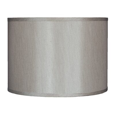 Classic 14 Faux Silk Drum Lamp Shade Color: Champagne