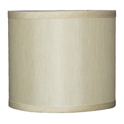 Classic 8 Faux Silk Drum Lamp Shade Color: Cream