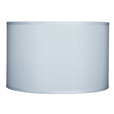Classic 16 Faux Silk Drum Lamp Shade Color: Off White