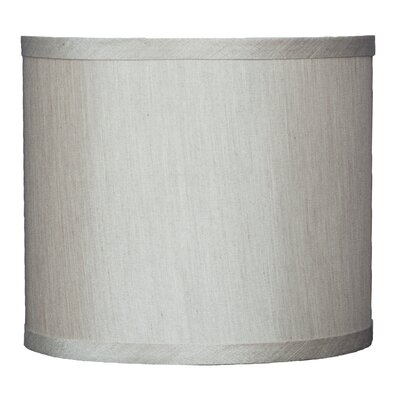 Classic 8 Faux Silk Drum Lamp Shade Color: Champagne