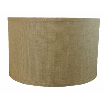 Classic 16 Burlap Drum Lamp Shade Color: Natural Burlap