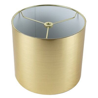 Classic 8 Drum Lamp Shade Color: Gold