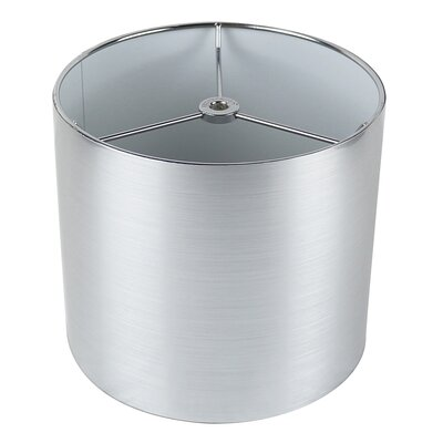 Classic 8 Drum Lamp Shade Color: Silver