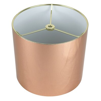 Classic 8 Drum Lamp Shade Color: Copper