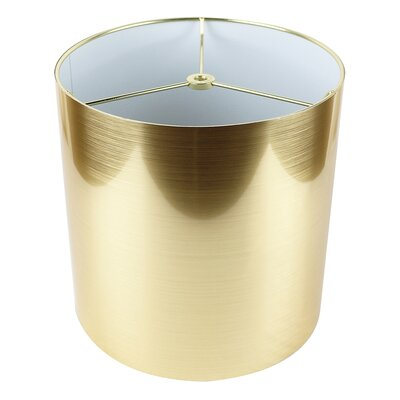 Classic 10 Drum Lamp Shade Color: Gold