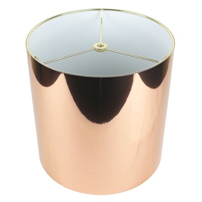 Classic 10 Drum Lamp Shade Color: Copper