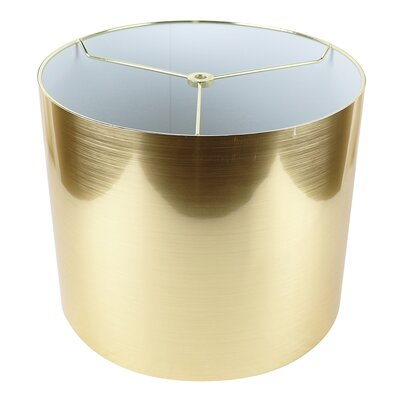 Classic 12 Drum Lamp Shade Color: Gold