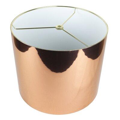 Classic 12 Drum Lamp Shade Color: Copper