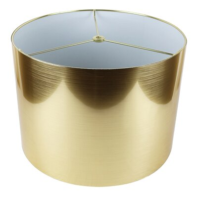 Classic 14 Drum Lamp Shade Color: Gold