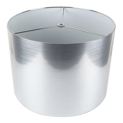 Classic 14 Drum Lamp Shade Color: Silver