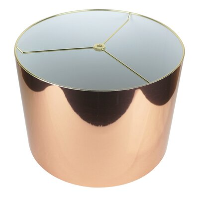 Classic 14 Drum Lamp Shade Color: Copper