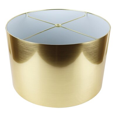Classic 16 Drum Lamp Shade Color: Gold