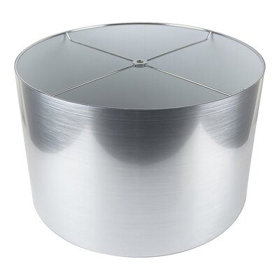 Classic 16 Drum Lamp Shade Color: Silver