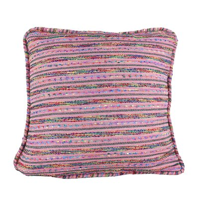 Decorative Throw Pillow Cover Size: 20 H x 20 W x 1 D, Color: Dusty Pink