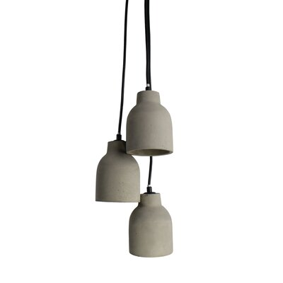 I 3-Light Casacde Pendant