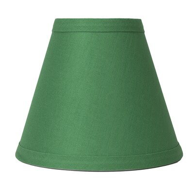 6 Linen Empire Candelabra Shade Finish: Kelly Green