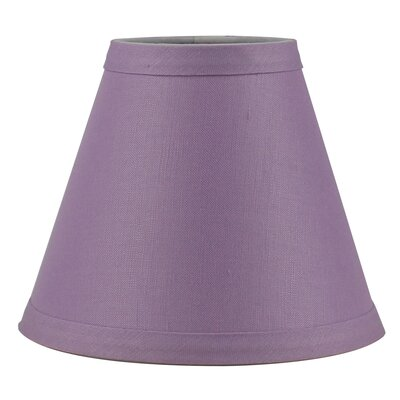 6 Linen Empire Candelabra Shade Finish: Perwinkle