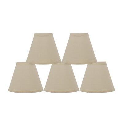 Hardback 6 Linen Empire Lamp Shade Finish: Eggshell