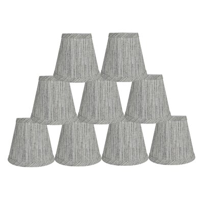 Hardback 5 Linen Empire Lamp Shade Finish: Storm