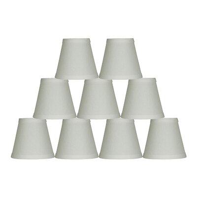 Hardback 5 Linen Empire Lamp Shade Finish: Off White
