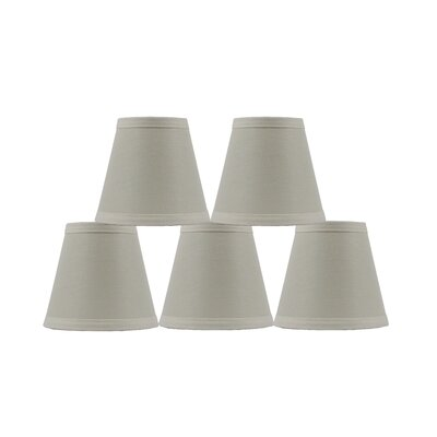 Hardback 5 Linen Empire Lamp Shade Finish: Eggshell