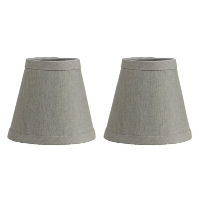 Hardback 5 Linen Empire Lamp Shade Finish: Oatmeal