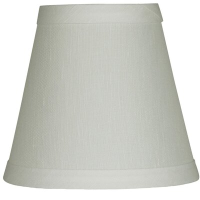Hardback 5 Linen Empire Lamp Shade Finish: Off White