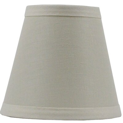 Hardback 5 Linen Empire Lamp Shade Finish: Eggshell