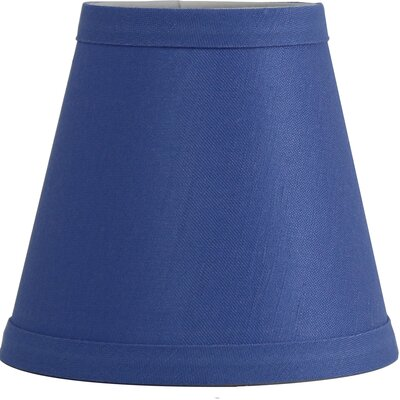 Hardback 5 Linen Empire Lamp Shade Finish: Perwinkle