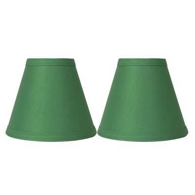 Hardback 6 Linen Empire Lamp Shade Finish: Kelly Green