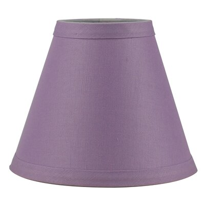 6 Linen Empire Candelabra Shade Finish: Dusty Pink