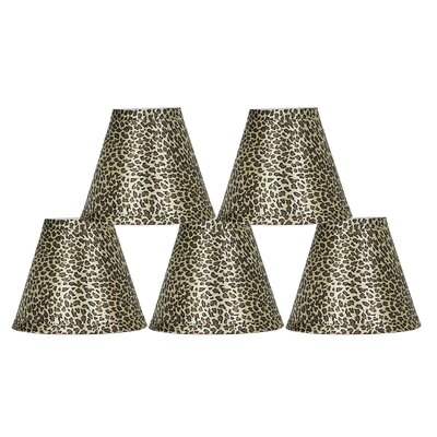 6 Animal Print Empire Lamp Shade