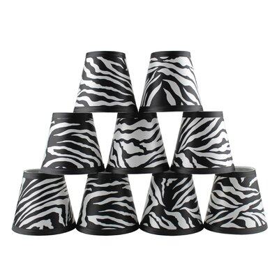 5 Zebra Empire Lamp Shade
