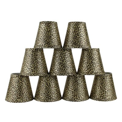 5 Cheetah Empire Lamp Shade with Clip-on