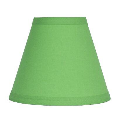 6 Cotton Empire Candelabra Shade Color: Bright Green