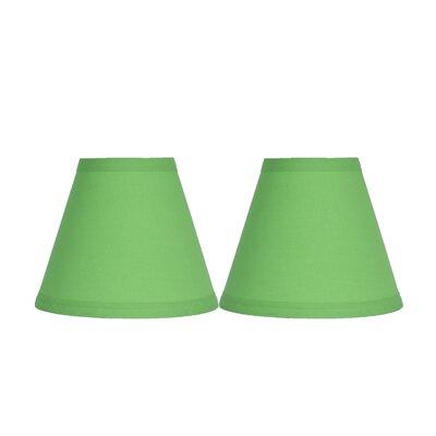 6 Cotton Empire Clip-on Lamp Shade Color: Bright Green