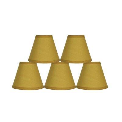 6 Cotton Empire Lamp Shade Color: Mustard