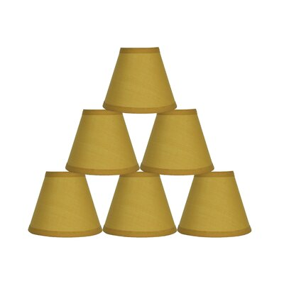 6 Cotton Empire Lamp Shade Color: Mustard